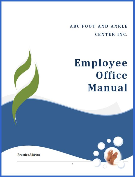 Nice Customized Employee Manual
